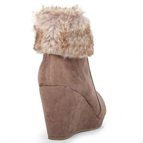 Super Mode, Damen Stiefel & Stiefeletten Khaki