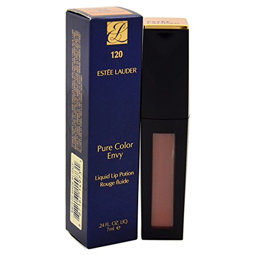 Estee Lauder Women's Pure Color Envy Liquid Lip Gloss, # 120 Extreme Nude, 0.24 Ounce (Lip 7ml Gloss Lipstick)