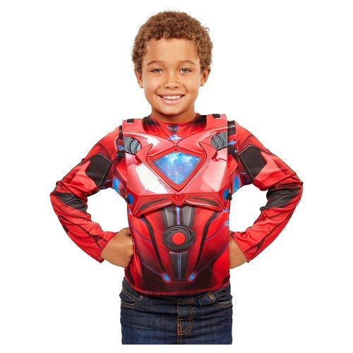 Power Rangers Movie Red Ranger Deluxe Dress Up Costume (For Games Rangers Power K)