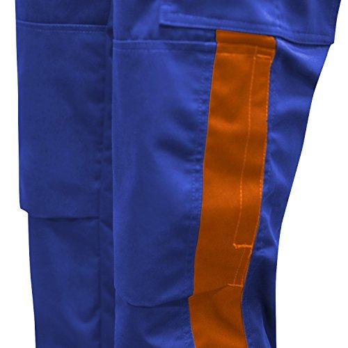 25 Per Da Lavoro Nero In Pro Tasca arancione Lampo Cerniera verde Pantaloni Kermen Ykk Ginocchiere Eu Blu Made Berlin Bottone nXTqxd5d