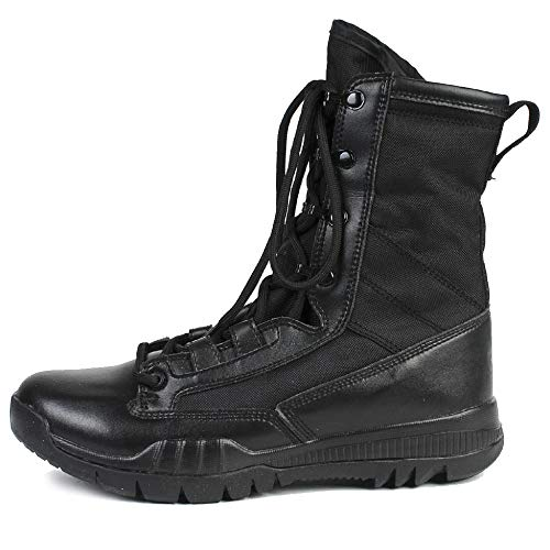 Stivali Leggere Calzature Lavoro da High Utility Men's Trekking Black Boot Camping Black Arrampicata Top Desert Tactical da Army Desert Combats Boots Scarpe rrxwOZq6