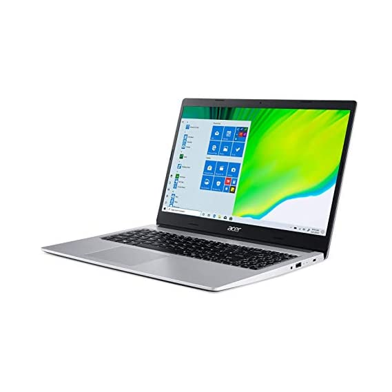 """Acer Aspire 3 AMD Ryzen 5-3500U 15.6"""" (39.62cms) Full HD IPS Display Thin and Light Laptop (8GB Ram/512GB SSD/Win10/Integrated Graphics/Pure Silver/1.9), A315-23"""