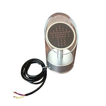 Acrílico economía escalera mecánica semáforo Running Dirección Indicador DC24 V 2 piezas por paquete: Amazon.es: Amazon.es