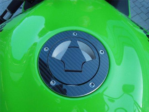 JOllify CARBONIO protezione in fibra di carbonio tappo per serbatoio cover per Kawasaki Versys le650/a 2007/ /2009/jcc430/K
