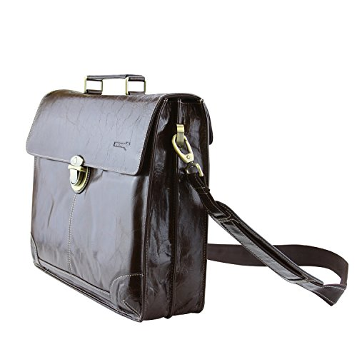 Lb1 High Performance New Leather Briefcase For Lenovo