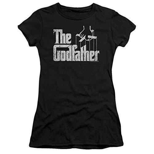 Juniors: Godfather- Logo Juniors (Slim) T-Shirt Size L
