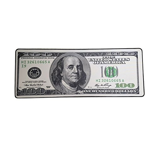 100 Dollar Long Gaming Mouse Pad