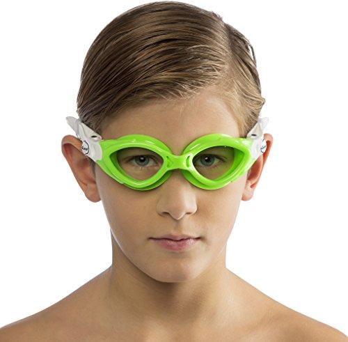 Cressi Premium Lunettes de Natation Pour Enfant - Anti Buée, 100% Anti UV  Aquamarine ... 719dc685ff13