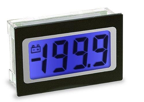Lascar SP 400-BLUE 9 Pin SIL Connection Voltmeter