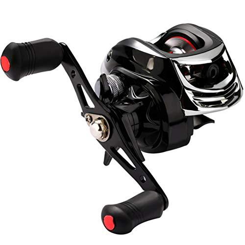 - High Speed 7.2:1 Baitcasting Fishing Wheel Strong Drag Power 18BB Ball Bearings Right/Left Handed Carp Fishing Reel Left Hand