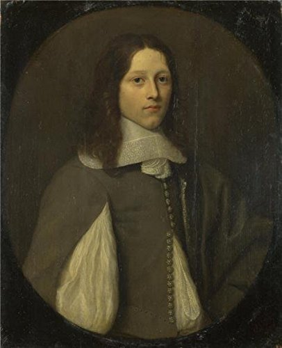 Oil Painting 'Abraham Raguineau - Portrait Of A Young Man In Grey,1657' Printing On Perfect Effect Canvas , 16x20 Inch / 41x50 Cm ,the Best Home Office Decor And Home Gallery Art And Gifts Is This Imitations Art DecorativeCanvas Prints