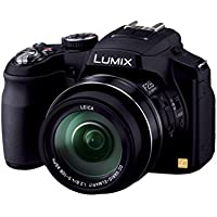 Panasonic Lumix DMC-FZ200 12.1 MP Digital Camera with CMOS Sensor and 24x Optical Zoom - International Version (No Warranty)