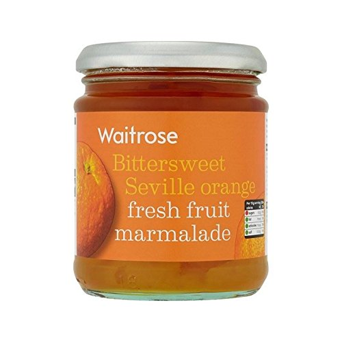 Seville Orange Fresh Fruit Marmalade Waitrose 340g - Pack of 2