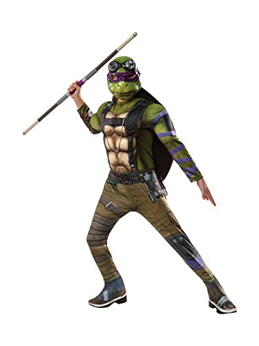 Rubie's Costume Kids Teenage Mutant Ninja Turtles 2 Deluxe Donatello Costume