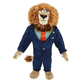 Official Disney Zootropolis 41cm Mayor Lionheart Soft Plush Toy by Disney