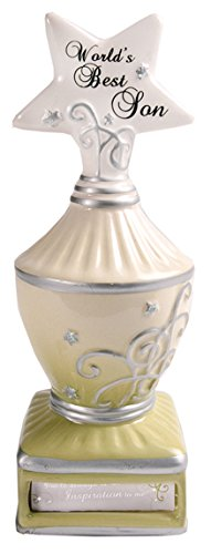 My Star by Pavilion World's Best Son Trophy Figurine/Coin Bank, 7-Inch Tall