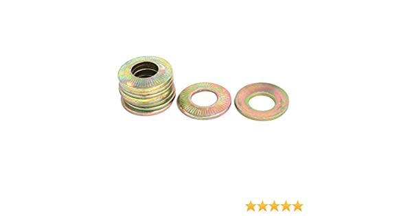 Hardened Steel Hardened Steel Plain Finish 10 pcs Metric DIN 6319C M30 Conical Washer