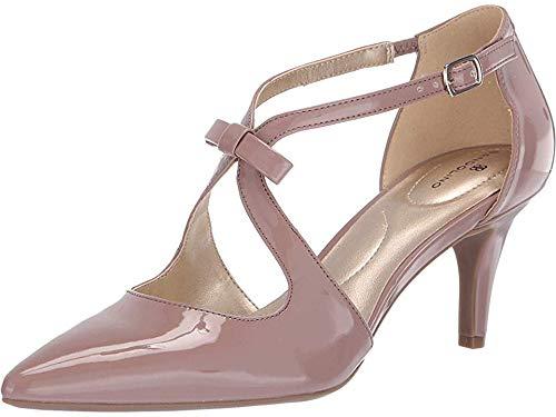 Bandolino Womens Zeffer Pump Medium Pink Synthetic 8 M