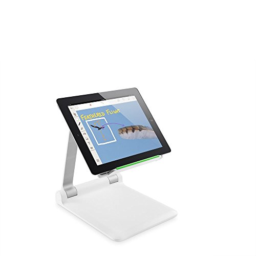 Belkin B2B118 Portable Tablet Stage, Compatible with Most Tablets and Smartphones Including All Generations of iPhone, iPad, iPad Pro, iPad mini and iPad Air