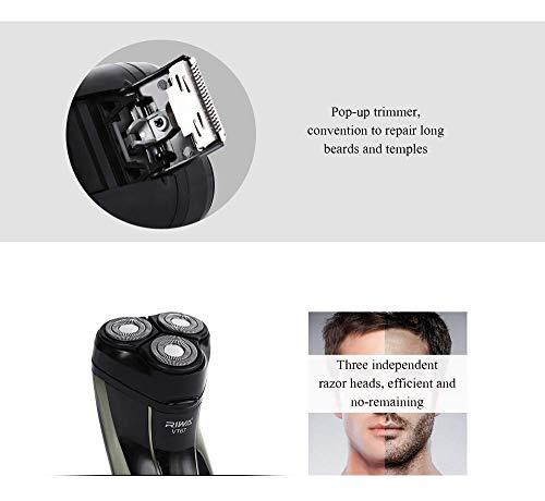 NPET Shaver Replacement Head 3 Pcs for ES8109 Electric Shaver Razors for Men