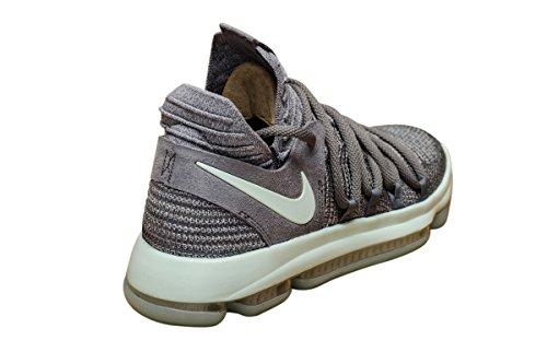 Nike Mens Zoom Kd 10 X Heren Basketbal Sneakers Nieuw, Cool Grijs Iglo Wit 897815-002