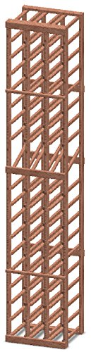 Vinotemp 3-Column 54-Bottle Wood Wine Rack with Display