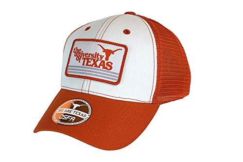 Texas Longhorn Hats (Elite Fan Shop Texas Longhorns Hat Snap Back Retro - Adjustable -)