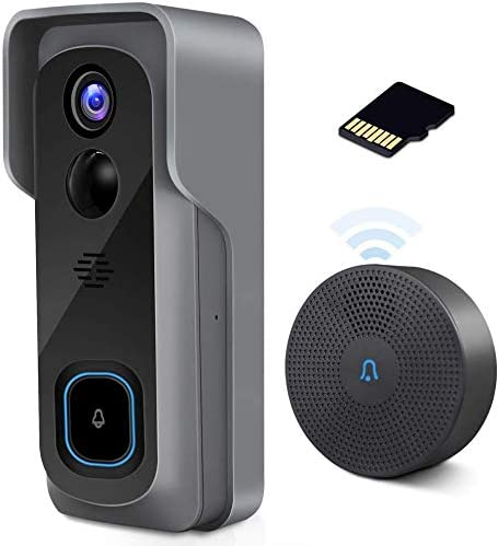 ZUMIMALL WiFi Video Doorbell Camera with Chime