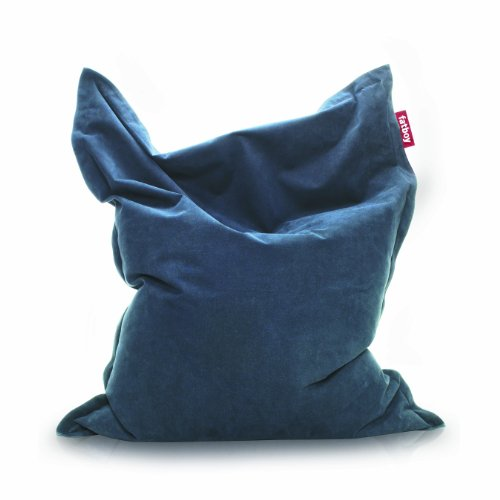Fatboy The Original Stonewashed Bean Bag, Dark Blue