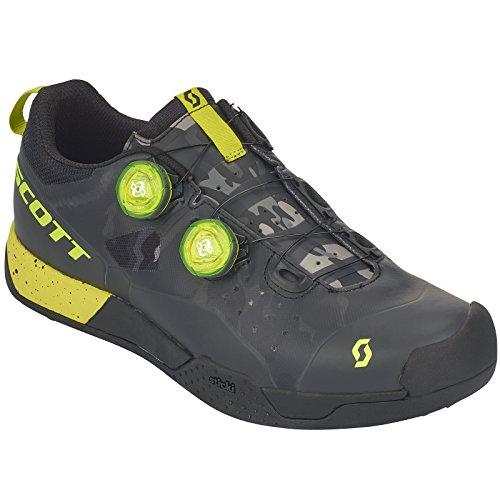 Scott MTB AR Boa Clip bicicleta guantes negro/amarillo 2018
