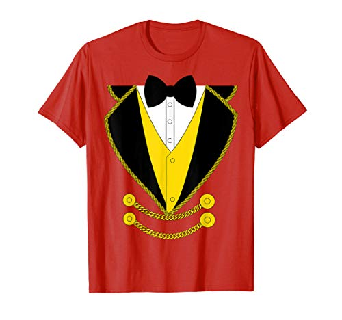 Ringmaster Costume Kids, Boys, Girls, Circus Shirt -
