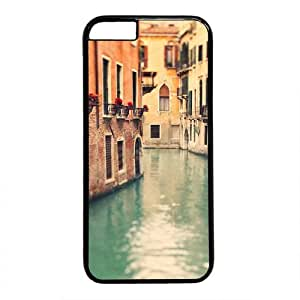 """Venice View Theme Case for iPhone 6(4.7"""") PC Material Black by runtopwell"""
