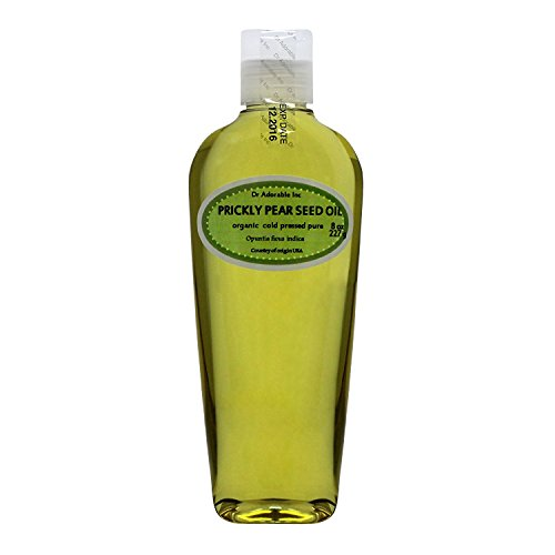 All Natural Prickly Pear - 8 OZ PRICKLY PEAR SEED OIL BY DR.ADORABLE 100% PURE COLD PRESSED