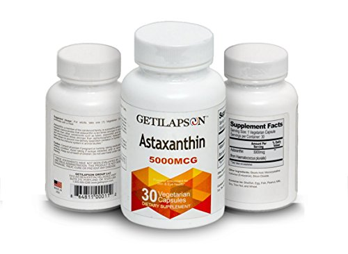 Getilapson Astaxanthin 5000mcg by Getilapson