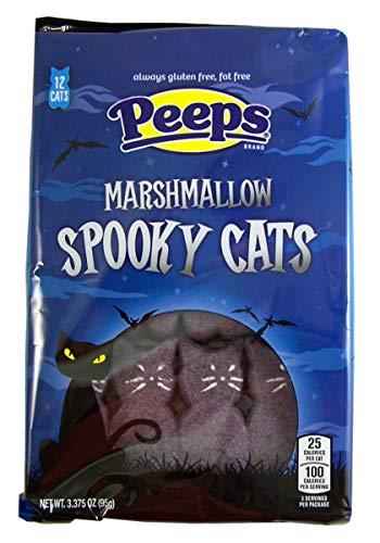 Halloween Spooky Cats Marshmallow Peeps, 3.375 oz -