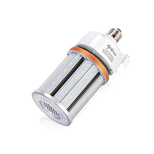 27W High Output LED Corn Light for 70-150W MH/HID/HPS Replacement, 3900 Lumens, UL Listed, 100-277VAC, LED Street Lighting, High Bay Lighting, E26 Medium Base (5000K Cool White)
