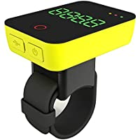 Camile R100 GPS Smart Cycling Camera - Yellow