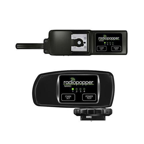 RadioPopper Nano Set - Transmitter & Receiver by RadioPopper