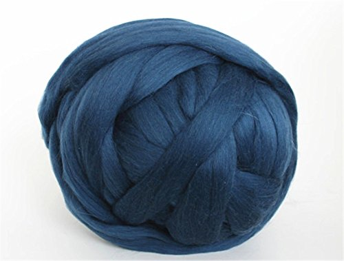 Expert choice for arm knitting yarn blue