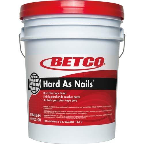Betco Hard As Nails Floor Finish, 5 Gallons