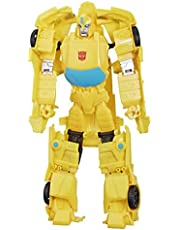 Transformers E5888 Toys Titan Changers Optimus Prime Action Figure - for Kids Ages 6 and Up, 11-inch