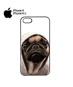 Lmf DIY phone casePug Life Grumpy Dog Mobile Cell Phone Case Cover iPhone 4&4s WhiteLmf DIY phone case