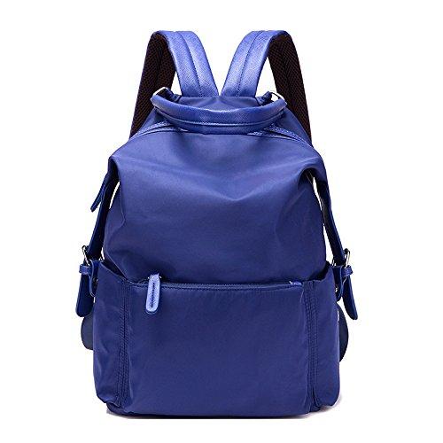 Handbag Shoulder Bag Woman Zipper Leisure Travel Nylon Ladies Fashion Big Fashion Blue