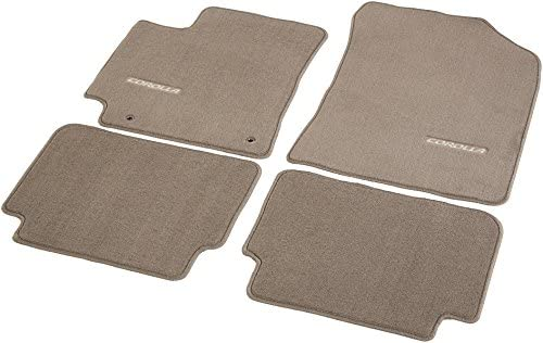 TOYOTA Genuine Accessories PT206-02103-45 Carpet Floor Mat for Select Corolla Models