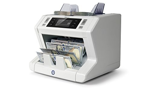 Safescan 2650 Currency Bill Cash Banknote Money Count Counter Detects Counterfeit - 2650 Lcd