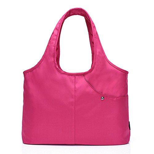 Spanning Violeta Capacidad Pink Gran De Bolso Sesgar Oxford Hombro Ocio Impermeable Solo Gwqgz 5PzF7qSq