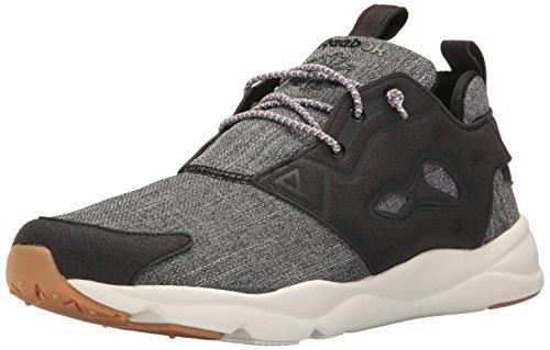 Reebok Men's Furylite Refine Fashion Sneaker Black/Chalk-gum buy cheap in China blV2AK