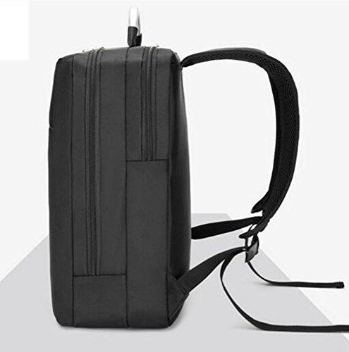 Geschäft Computer Rucksack Drei mal Schutzfach Mit iPad / Tablet / E-Reader Tasche 20-35 Liter black