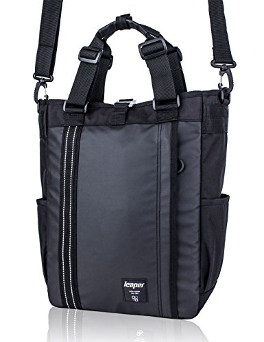 Leaper Multifunctional Backpack Laptop Shoulder School Business Travel Daypack (Black)