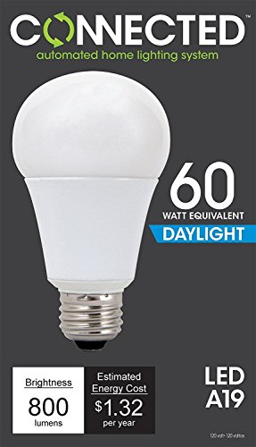 Price comparison product image SET OF 6 TCP CAS11LCDL Connected 60W Equiv. 5000K A19 Smart LED Bulb Daylight supplier_id_selalightning it 36182248551095